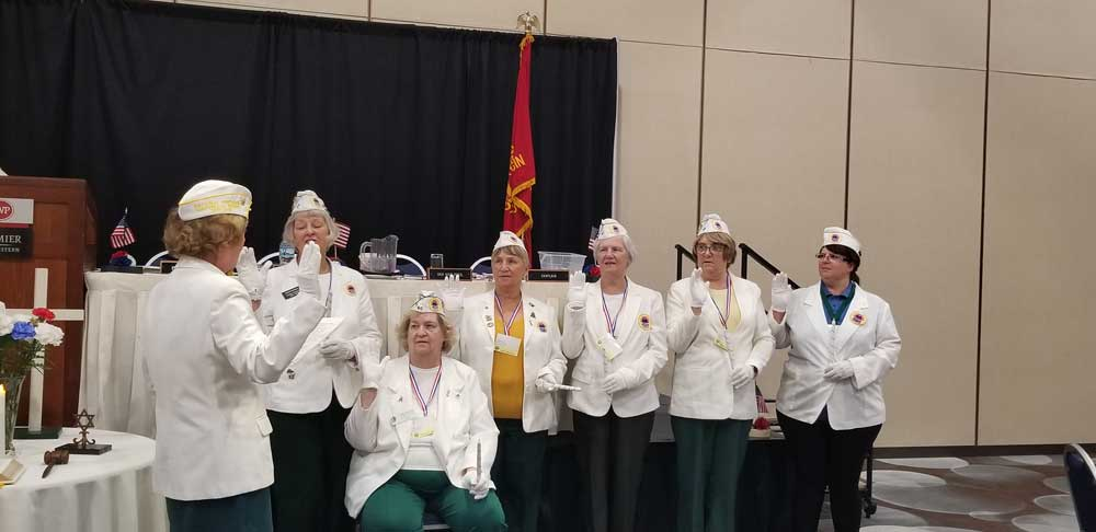 amvets auxiliary wi 2020 officers