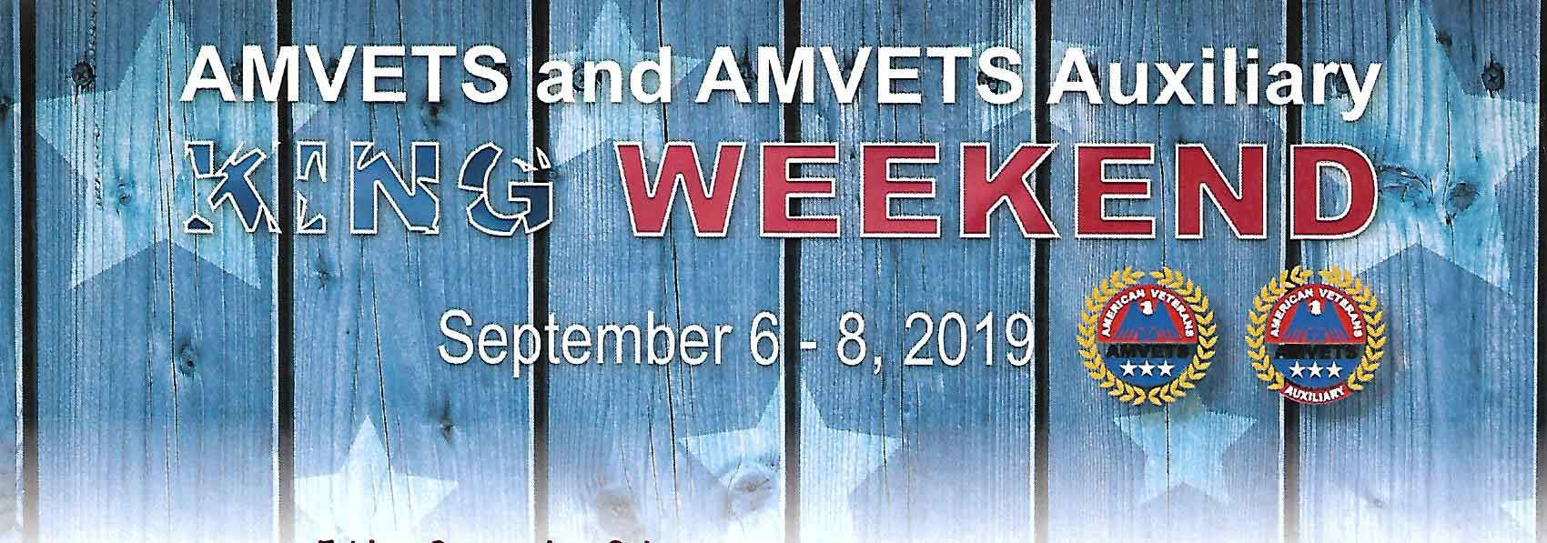 amvets king weekend 2019